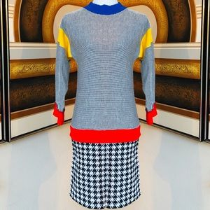 NWT '80s DVF 💋New Wave💋 Shift Dress